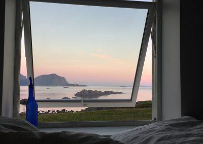 Bilde av utsikt fra et soverom