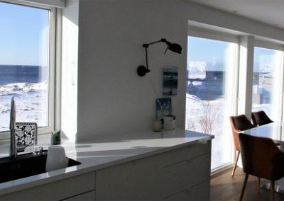 Bilde av kjøkken og spiseplass