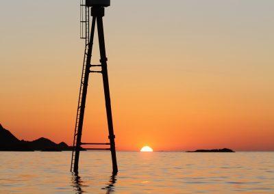 Bilde av solnedgang