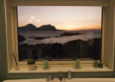 Bilde av utsikt fra badet